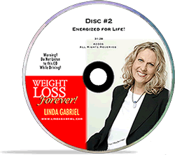 Linda Gabriel Weight Loss Forever CD Energized for Life